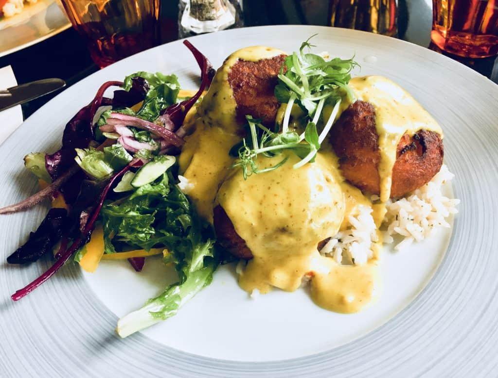 Dinner in Iceland