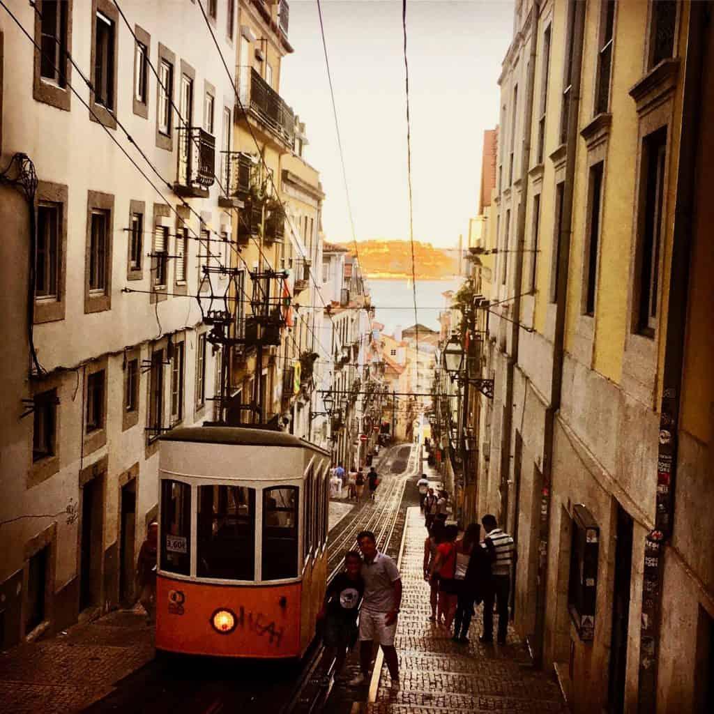 Class Tram in Lisbon