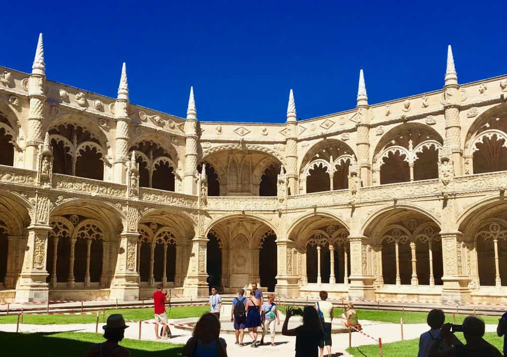 Inside the Jeronimos Monastery