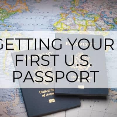 getting first us passport