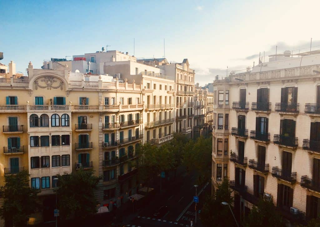 Barcelona street view