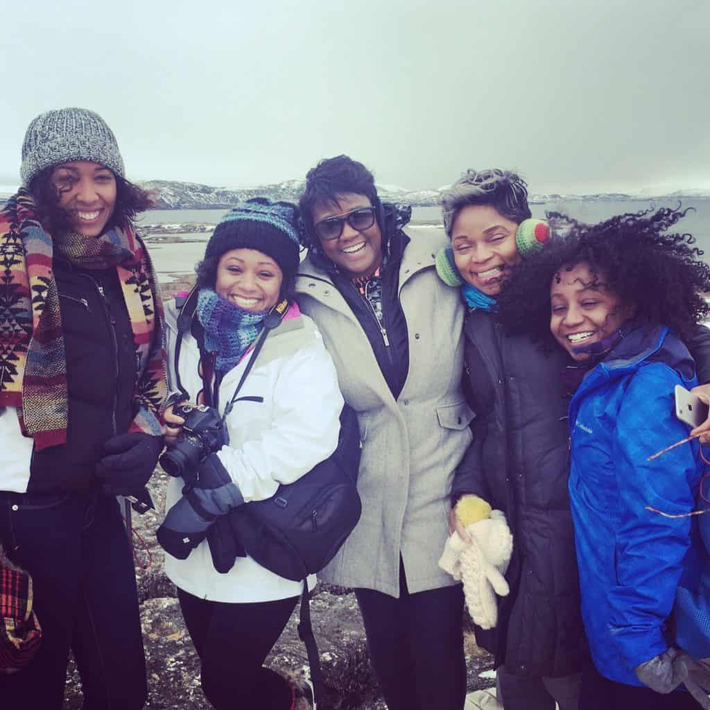 women in iceland