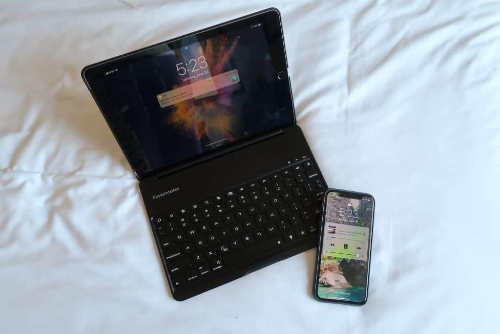 iPad and phone