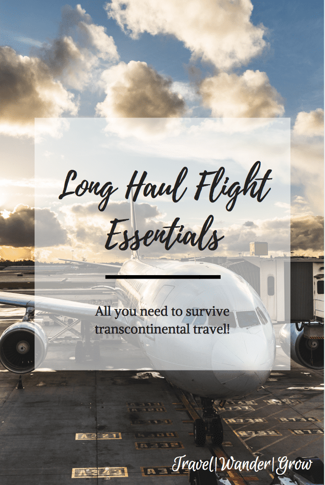 This post will cover the long haul flight essentials that you need for the best flight experience possible. This will serve as your visual and descriptive packing list! #longhaulflight #packingtips #travelessentials