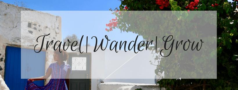 Travel|Wander|Grow Header