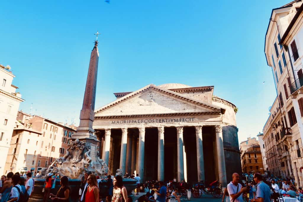 4 Day Rome Itinerary - Pantheon
