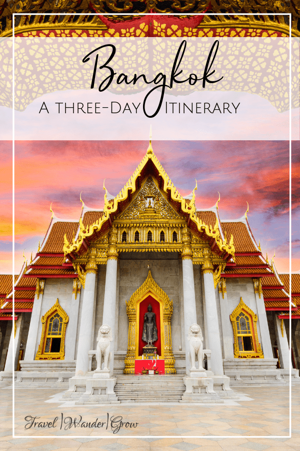 This Bangkok travel guide provides a 3 day itinerary on the best things to do in the city! Get tips on what food to eat, what hotels to stay in, and what activities to do in this bustling city. See night markets, temples, cruise the Chao Phraya River, and more! Bangkok is a tourist's dream, as there is so much that you can do here without spending a great deal of money. #bangkoktravelguide #thailandtraveldestinations