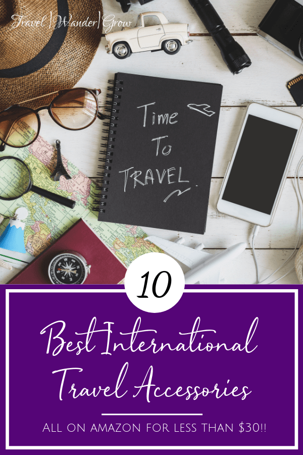 Best International Travel Accessories