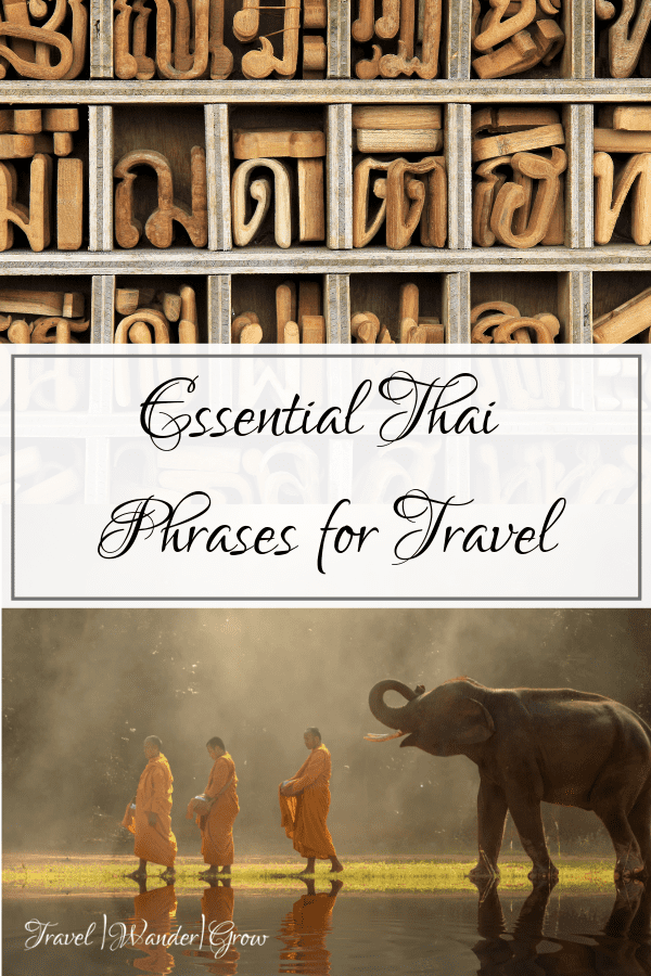 Thai for travel