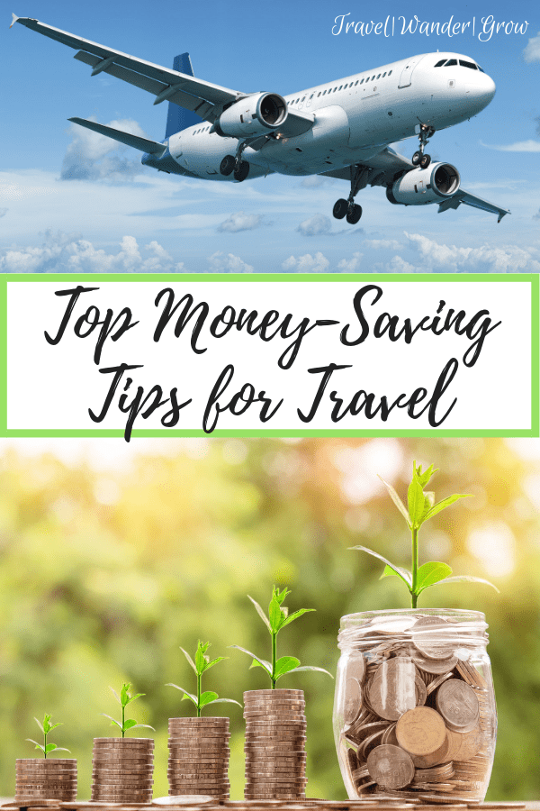 Want to travel more, but not spend all your money? Check out this post for a list of tips / apps / sites you can use to save money while traveling! #topmoneysavingtipsfortravel #moneyandtravel