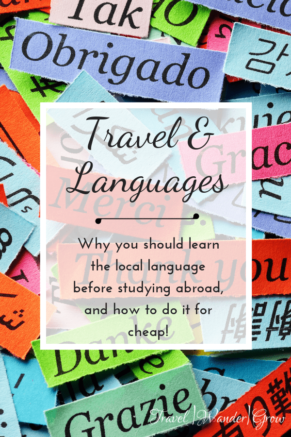 Travel and Languages