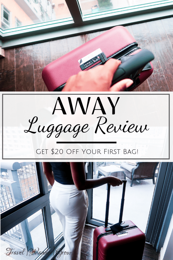 Away Luggage Review [The Bigger Carry-On]