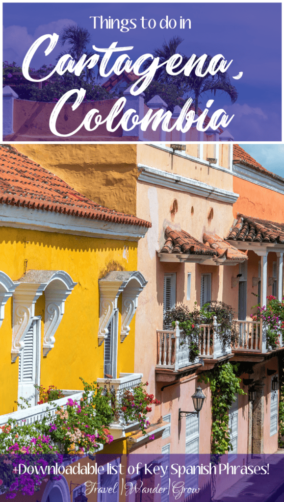 Cartagena is a city full of beauty - from the colorful walls, to flowered balconies, the views never stop. In addition to the views, the city is full of delicious food, unique experiences, and friendly locals. In this Cartagena Travel Guide, I'll give you ideas on what to do in Cartagena, Colombia, so that you have the best time on your visit there! #thingstodoinCartagena #CartagenaTravelGuide