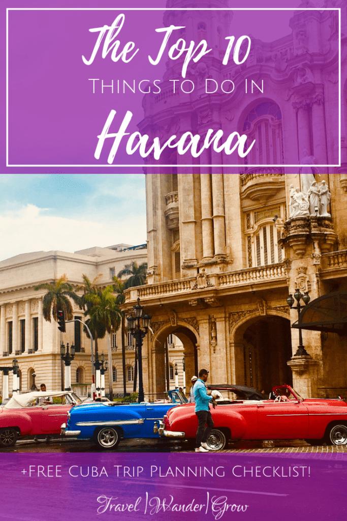 top 10 things to do in havana