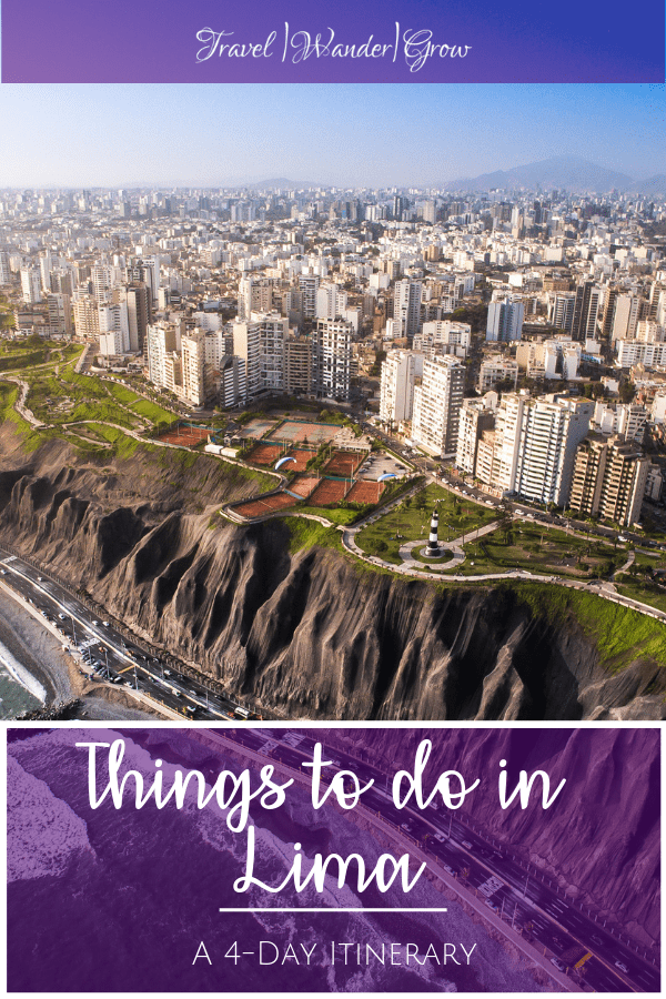 Lima is a sprawling city that is full of hidden gems that you should explore. This Lima Travel Guide provides details on what to do in Lima (as well as what you probably should not do) in a four-day itinerary. This guide also includes a brief history of the city. #limaperu #thingstodoinperu