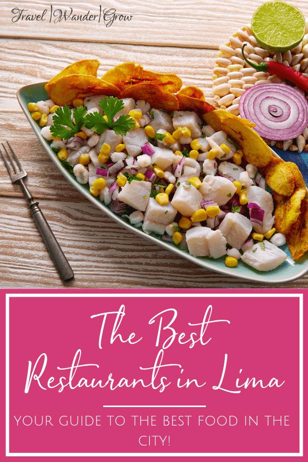 best restaurants in lima peru