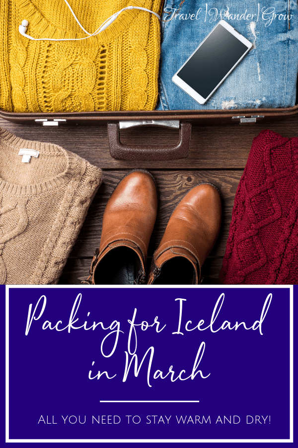 Packing for Iceland in March!
