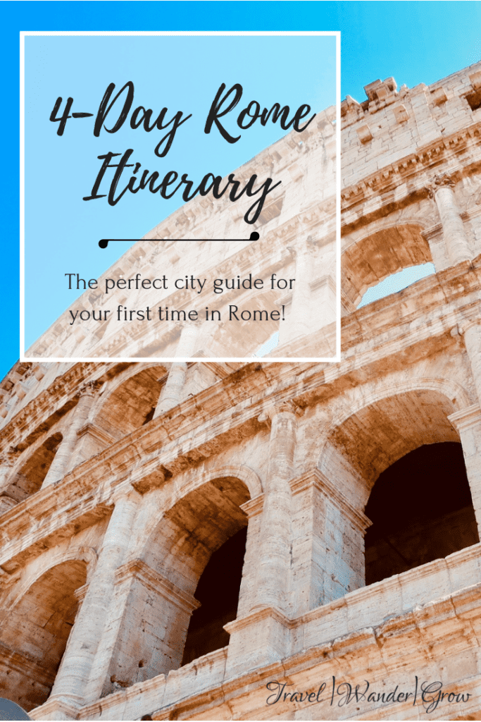 4-Day Rome Itinerary
