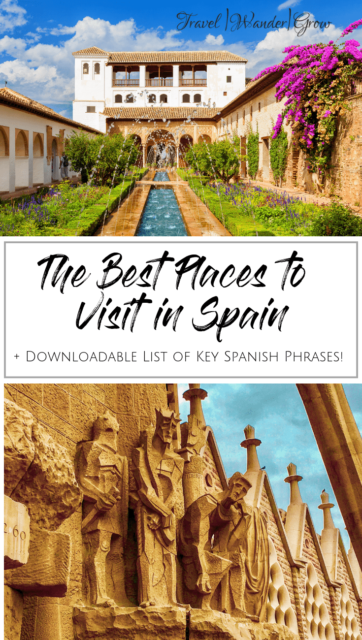 Like Portugal, I think mainland Spain is another underrated southern country in Europe. This post will give you my personal perspective on the best places to visit in Spain. In addition, this post covers the top things to do in each city. The cities included are Barcelona, Madrid, Valencia, and more! #spain # #spaintravel