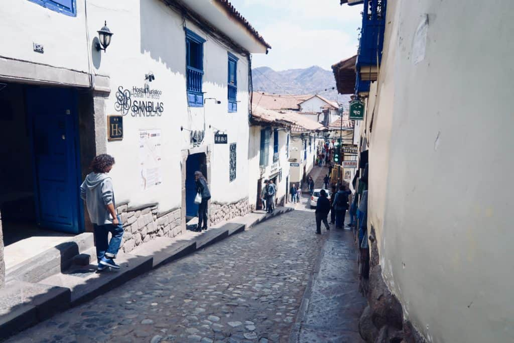 what to do in cusco, city streets