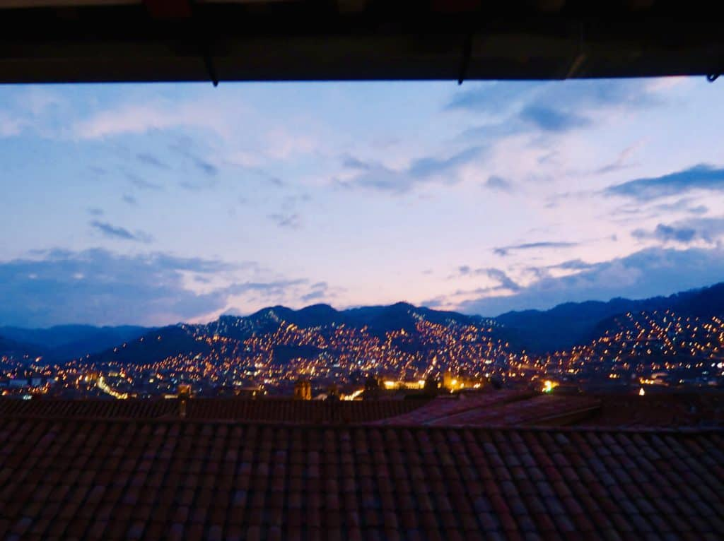 what to do in cusco. cusco at night