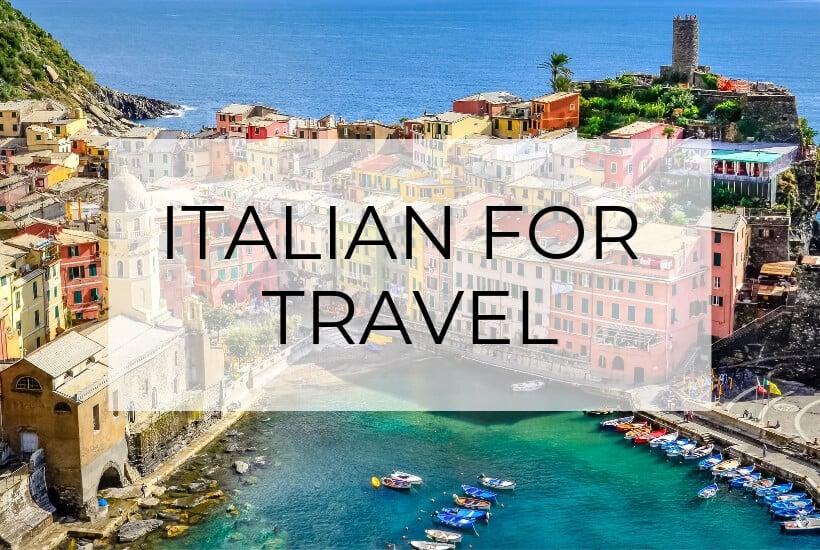 Italian Sayings for Travel | The Basics