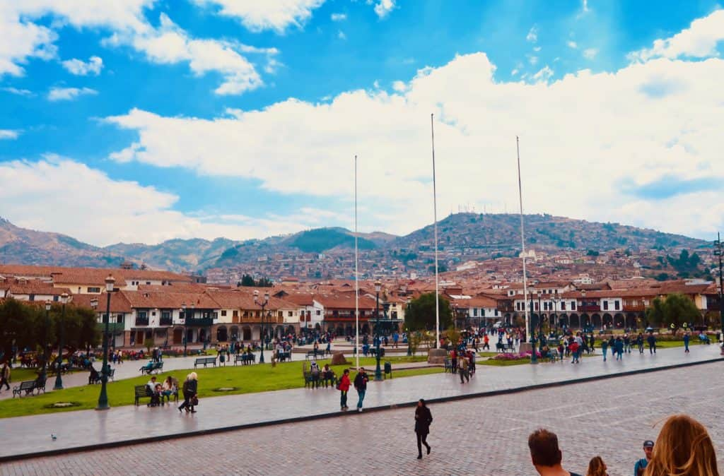 what to do in cusco, plaza de las armas
