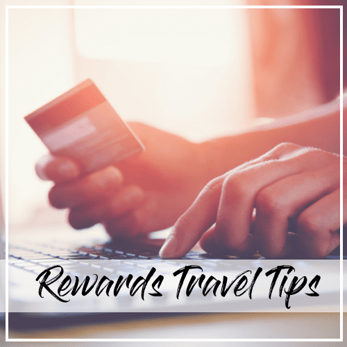 rewards travel tips
