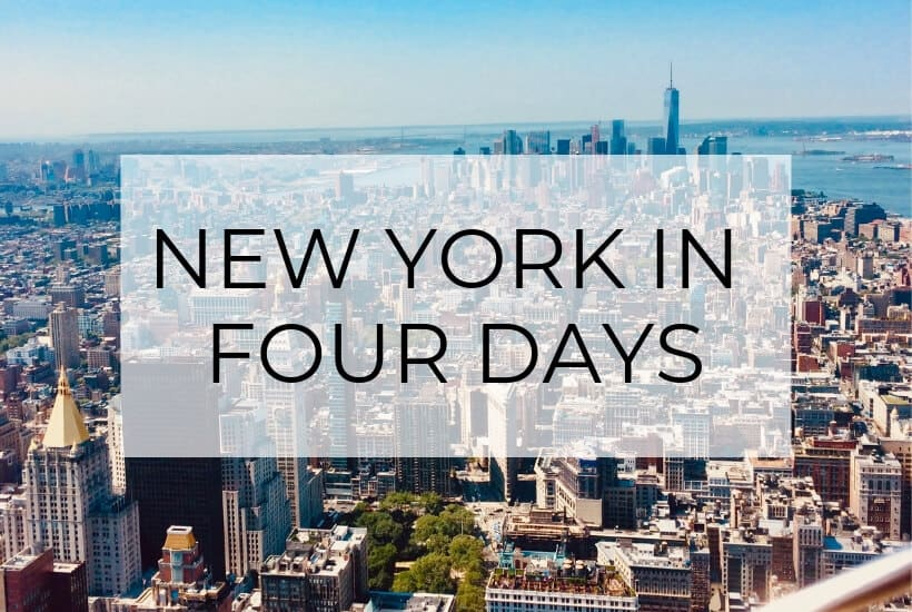 new york in four days