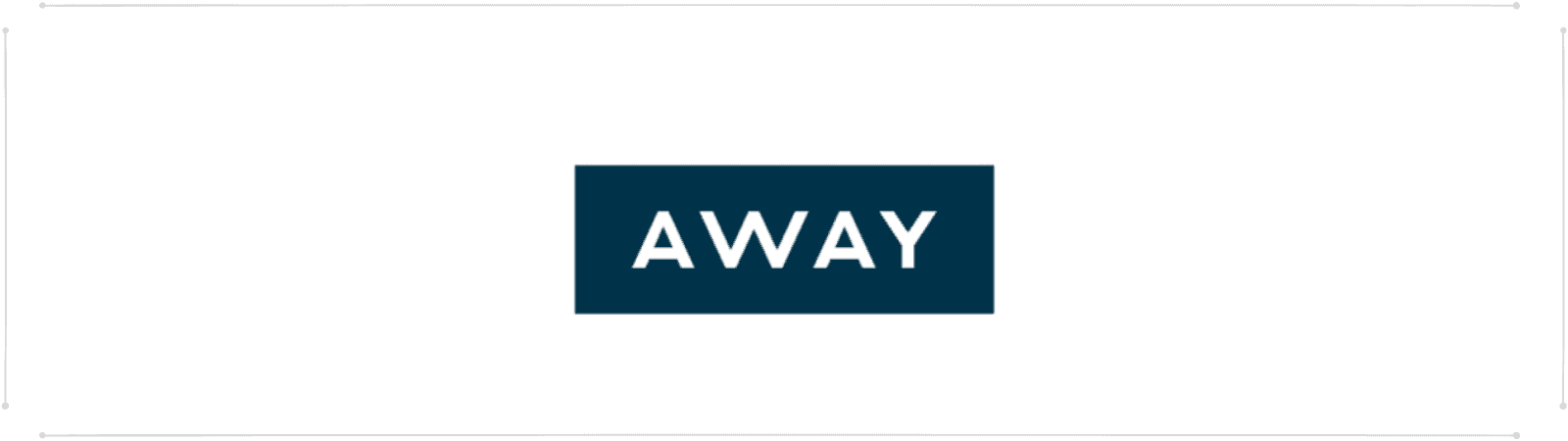 away luggage logo