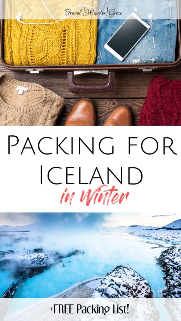 packing for Iceland in March