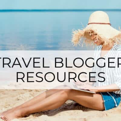 The 45 Best Travel Blogger Resources