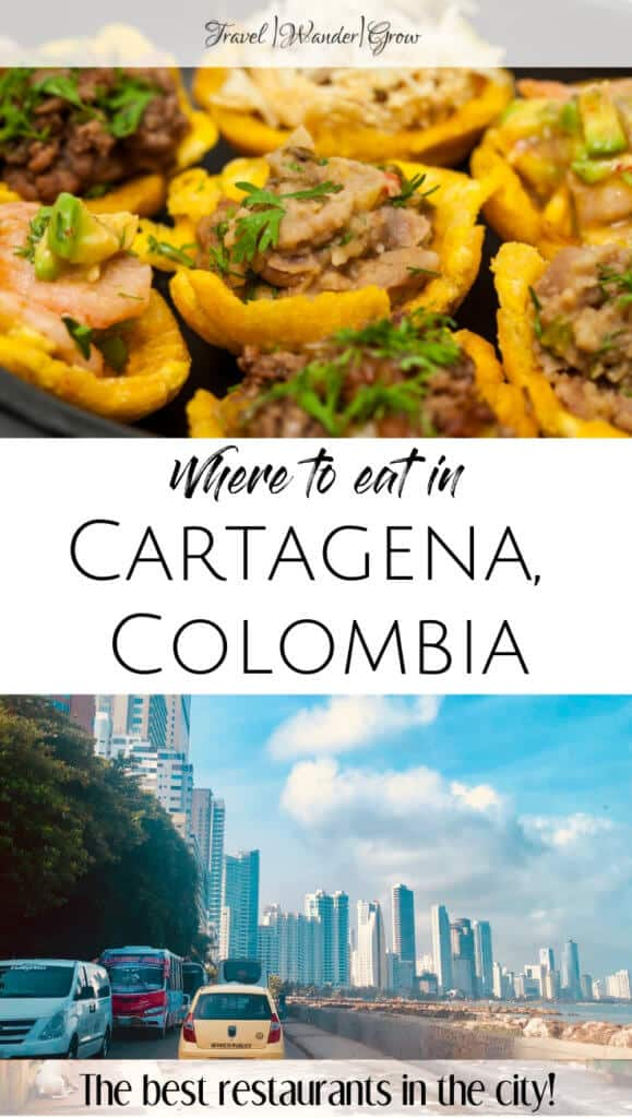 Cartagena is well known for a wide selection of seafood. In, addition to seafood, you'll find tasty breakfast options, delicious deserts, sweet and savory pastries, and more! This post will walk you through my list of the best restaurants in Cartagena, so that you can eat as well as I did there! Get recommendations for food outside of restaurants too! #bestrestaurantscartagena #cartagenatravel