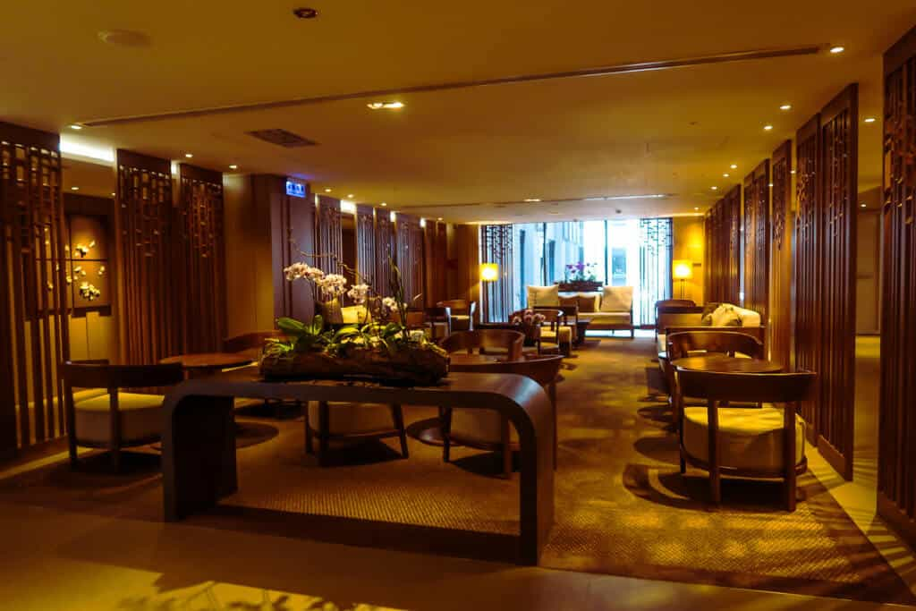 grand view hotel hot spring lobby