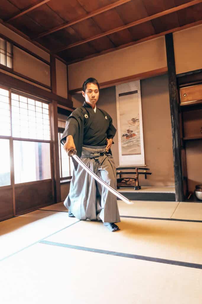 samurai instructor