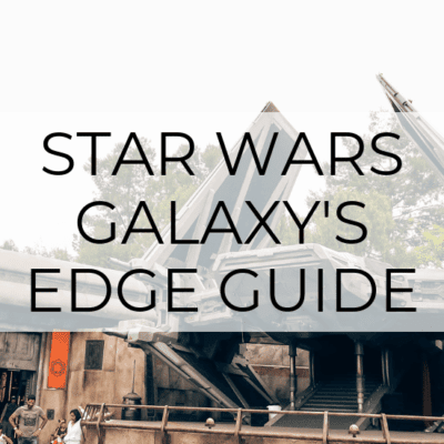 Star Wars: Galaxy's Edge – Tips & What to Expect