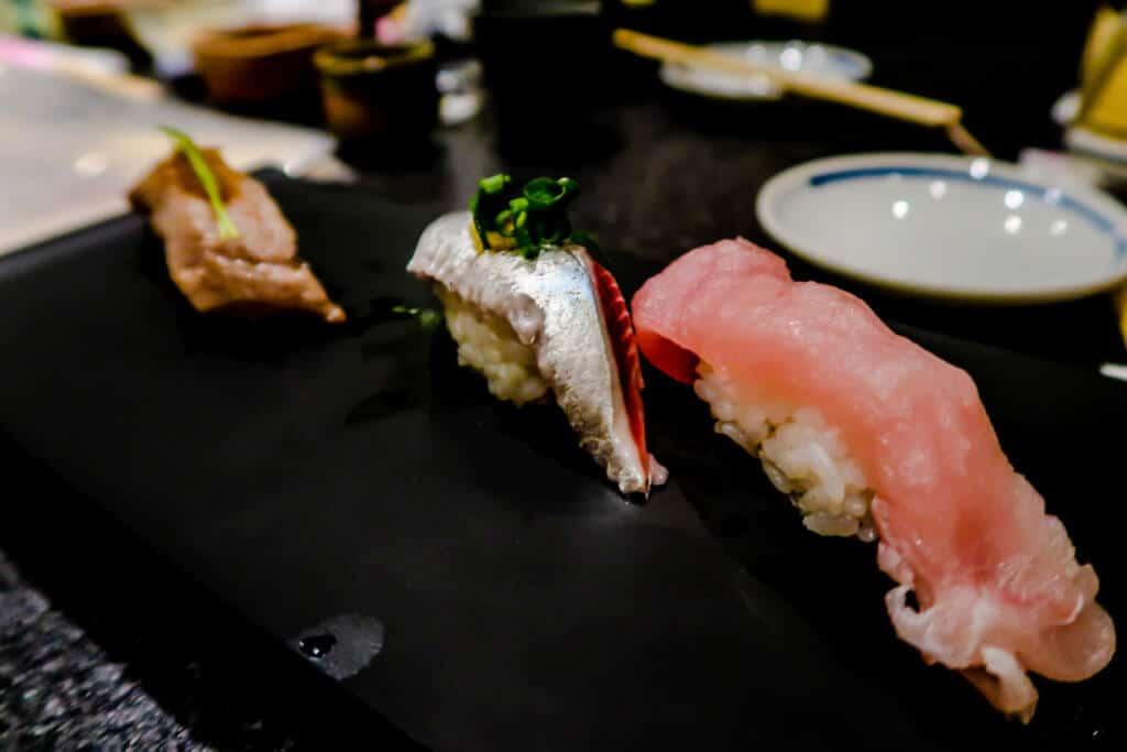 Sushi from sushizanmai