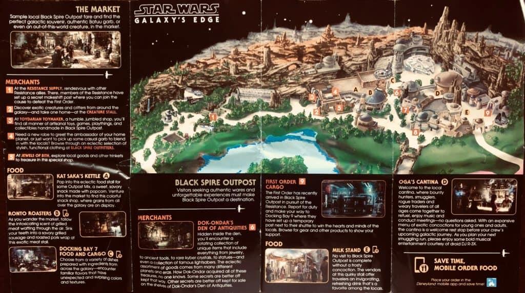 Galaxy's Edge Map