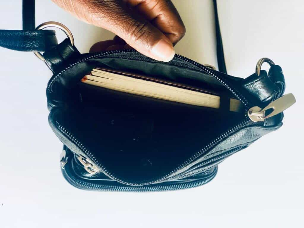 inside crossbody bag
