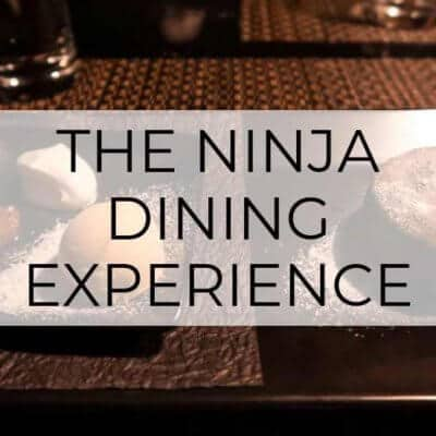 Ninja Akasaka Review: The Most Unique Dining Experience in Tokyo