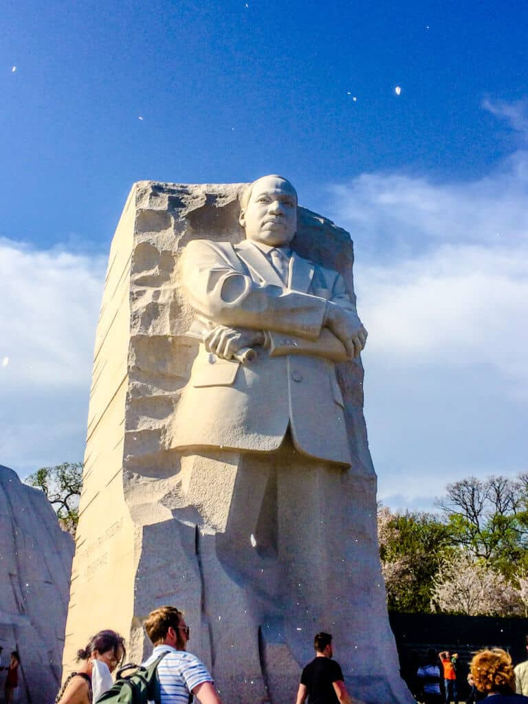 The MLK Monument