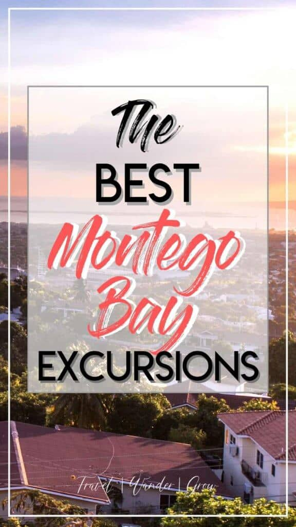 Montego Bay is a great choice for either a long relaxing trip or a nice long weekend trip. This post provides a list of the best things to to in Montego Bay, including which excursions to take, tips on where to swim at the beach and go snorkeling. See the Hip Strip, the Luminous Lagoon, and learn about the resorts in the area. #montegobayexcursions #whattodoinmontegobay
