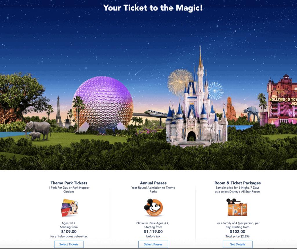Disney trip planning tips