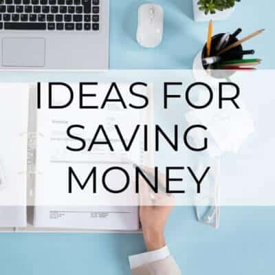 The 5 Best Ideas for Saving Money