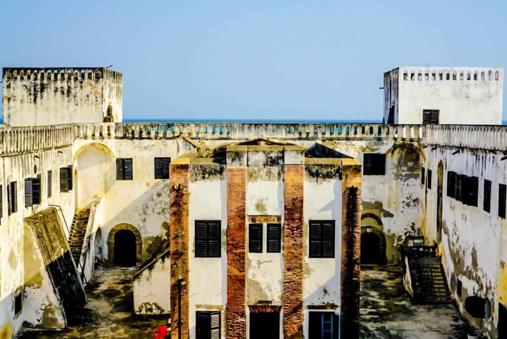 Elmina Castle interior