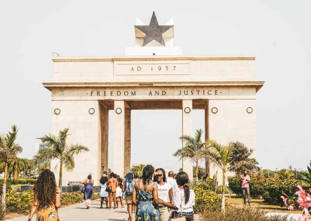 Black Star Gate in Accra
