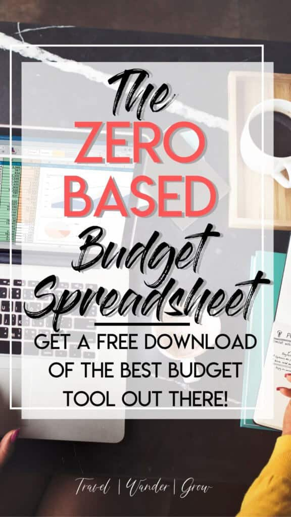 Looking for a Zero Based Budget Template? Along with this budgeting template, you'll get an example of how to use the zero based budget. Learn what is a zero based budget. You'll learn how to make your own zero based budget as well. #zerobasedbudget