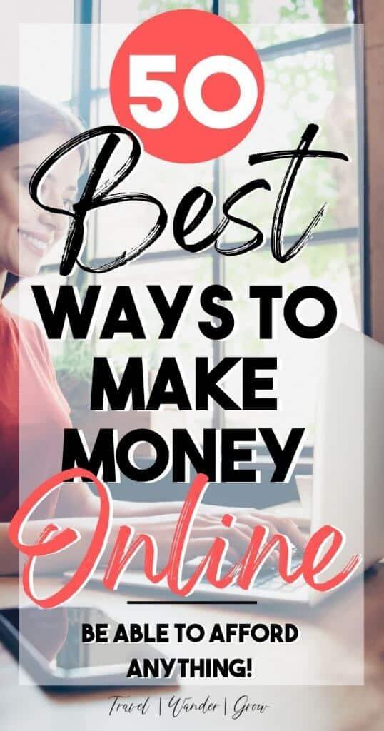 Make money online. Make money fast. Side jobs to make money. Side hustle ideas for women. Side hustle ideas for men. How to start an online side hustle. Side hustle ideas for teenagers. Side hustle ideas for moms.