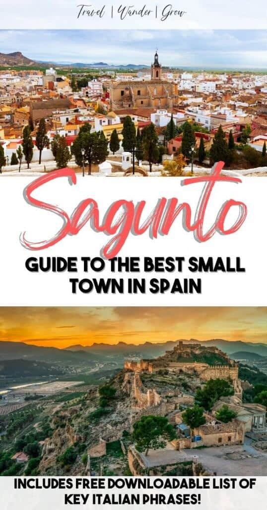 The ultimate Sagunto, Spain itinerary. Sagunto Spain travel guide. The best things to do in Sagunto. Spain travel tips. Spain packing tips. Travel Spain. Travel Europe.