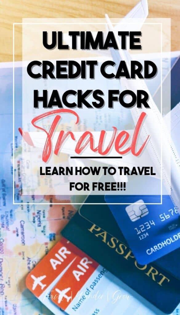 Credit card hacks. Credit card hacks personal finance. Credit points for travel. Best travel points credit cards. How to use credit card points. Credit card rewards points.